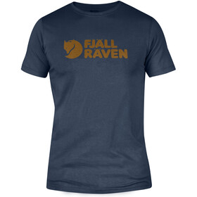 Fjällräven Logo T-Shirt Men navy